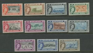 Bahamas  #158-168  MNH  1954 Short Set of 11 Stamps