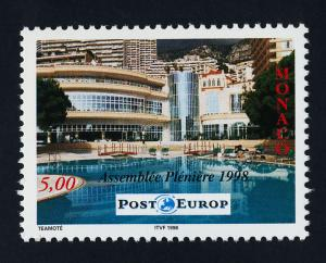 Monaco 2094 MNH Plenary Assembly of the European Post