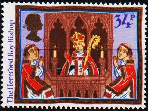 Great Britain. 1986 34p S.G.1346 Unmounted Mint