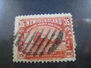 NEWFOUNDLAND - SCOTT # 73 -  Used