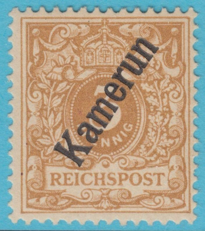 GERMAN COLONIES CAMEROUN 1 MINT HINGED * OG NO FAULTS VERY FINE !