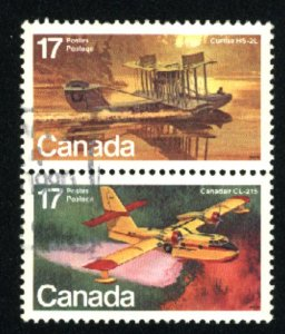 Can #843-44   pair    used VF 1979 PD