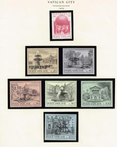 ITALY STAMP VATICAN MINT STAMP COLLECTION LOT #T4