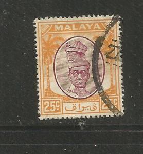 MALAYA, PERAK, 114,  U, PROFILE ORANGE