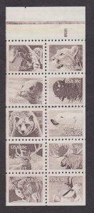 1889a American Wildlife F-VF MNH booklet pane