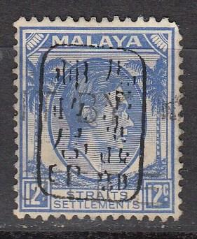 Straits Settlements N12 SG S14 Used F/VF 1942 SCV $160.00