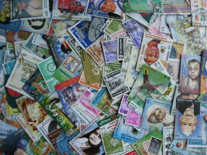Bangladesh scrap pile of 120. Duplicates, mixed condition,what lurks?
