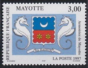 Mayotte 86 MNH (1997)