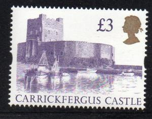 Great Britain Sc 1447A 1995 £3 Carrickfergus Castle stamp mint NH