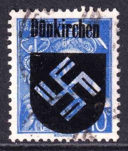 FRANCE 356 DÜNKIRCHEN OVERPRINT USED VF SOUND