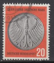 Germany - 1958 Anniversary of German currency reform (1644)