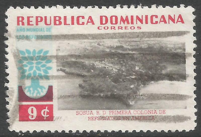 DOMINICAN REPUBLIC 523 VFU Z1136-2