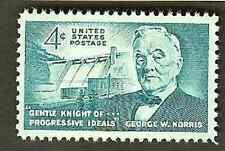 SCOTT # 1184 GEORGE NORRIS ISSUE SINGLE POST OFFICE FRESH GEM