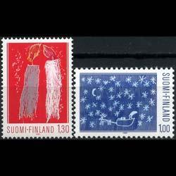 FINLAND 1983 - Scott# 685-6 Christmas Set of 2 NH