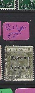 MOROCCO AGENCIES  (P2908B)  QV  20C  SG  11    VFU