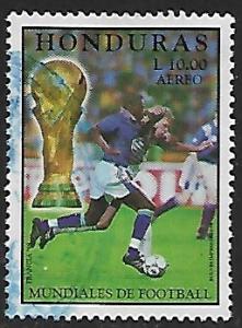Honduras # C1032 - W.C. Soccer - used   -{BR9}