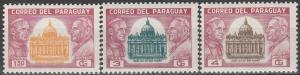 Paraguay #822-4  MNH VF   (V3718)
