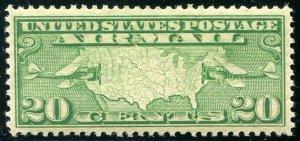 HERRICKSTAMP UNITED STATES Sc.# C9 20¢ Airmail. Great Stamp Superb NH
