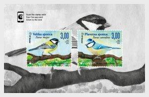 Stamps Bosnia and Herzegovina Mostar 2019 - Europa 2019 - National Birds - Minia