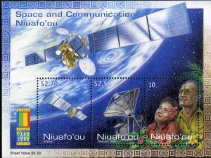 NIUAFO'OU 224 MNH S/S SCV $6.75 BIN $4.00 SPACE