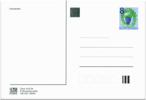 Slovakia Prepaid Postal Card 2004 Vineyard motive
