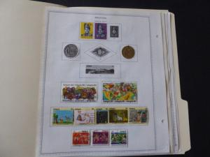 Malaysia 1969-1988 Stamp Collection on Album Pages