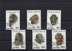 TANZANIA USED ON CARD