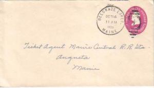 United States, Maine, Postal Stationery