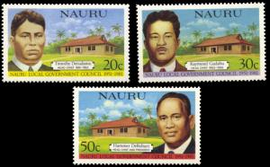 Nauru MNH 224-6 Legislative Council 1981