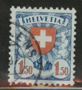 Switzerland Scott 202a used  1933 Coat of Arms stamp