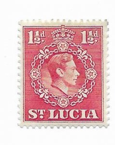 St. Lucia #113a MH - Stamp - CAT VALUE $1.40