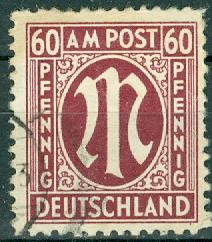 Germany - Allied Occupation - AMG - Scott 3N18