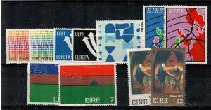 Ireland Scott 327-37 Mint NH (1973 Comm. Year Set) - Catalog Value $17.45