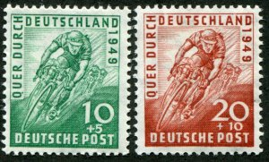 Germany    Sc.# B 304-5  MNH**