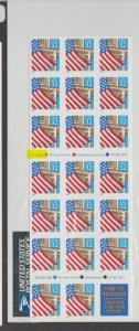 U.S. Scott #2920a - Face $6.40 - USPS Package Plate #V45554- Highlighted in Scan