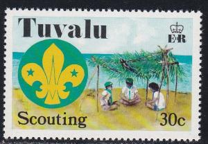 Tuvalu # 52, Scouting, NH