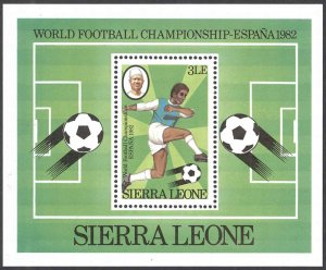 Sierra Leone Sc# 551 MNH Souvenir Sheet 1982 World Cup