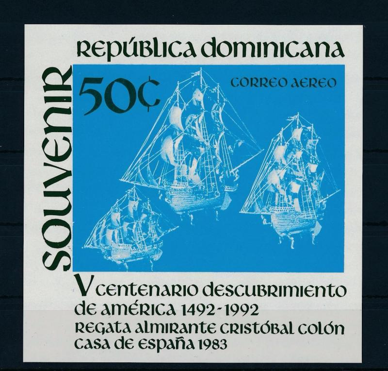 [36926] Dominican Republic 1983 Discovery of America Columbus SS MNH