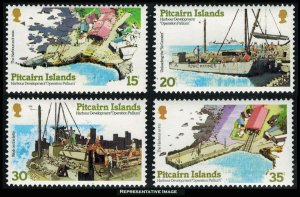 Pitcairn Islands Scott 178-181 Mint never hinged.