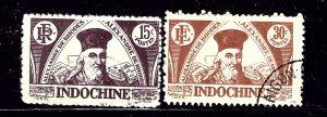Indochina 238-39 Used 1943-45 set