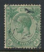 Straits Settlements George V  SG 221 Used