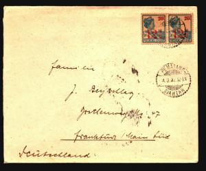 Netherlands Indies 1932 Cover / PEMATANG CDS - Z14984