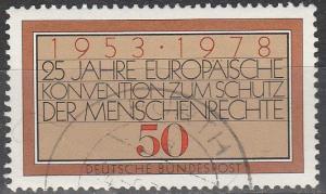 Germany #1280 F-VF Used (S4544)