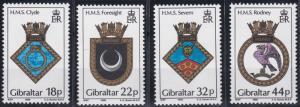Gibraltar 528-531 MNH (1988)