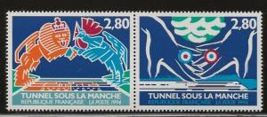 FRANCE #  2421 - 2  PAIR   MNH