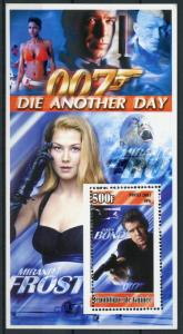 Guinea 2003 MNH James Bond 007 Die Another Day 1v S/S I Movies Stamps