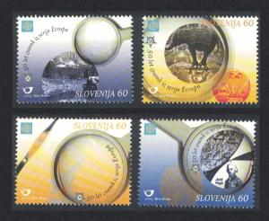 Slovenia 50th Anniversary of Europa CEPT 2v SG#663-666