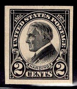 US Stamp #611 2c Harding MINT NH SCV $9.00