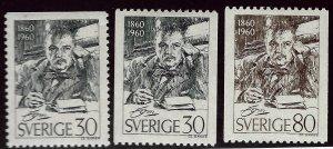 Sweden SC#550-552 Mint VF..Grab a Bargain!