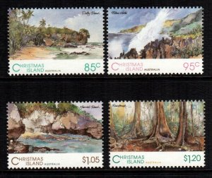 Christmas islands  350 - 353  MNH cat $ 8.60